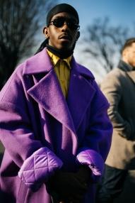 Street style at Milan Fashion Week Men's Fall 2019