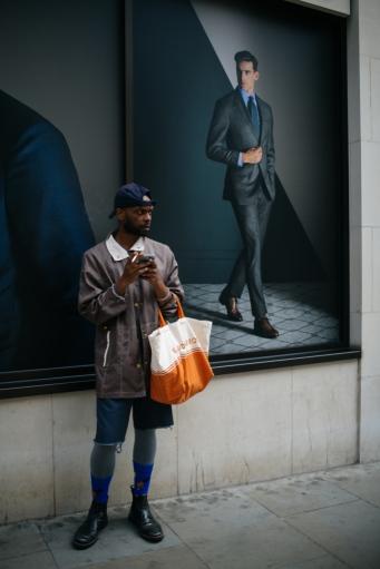 Street style at London Fashion Week Men's Spring 2019